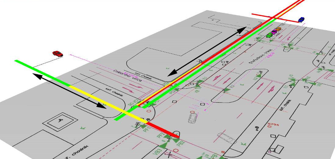 Traffic accidents on junctions controlled by traffic lights